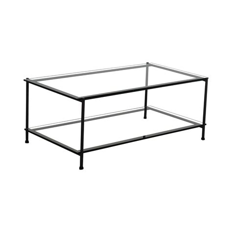 Couchtisch Glas Rechteckig by 52 Rectangular Glass And Metal Coffee Table Tables