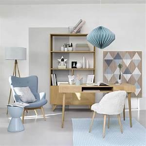 Deco Salon Maison Du Monde : fauteuil style scandinave bleu scandinave pinterest deco mobilier de salon et maison ~ Teatrodelosmanantiales.com Idées de Décoration