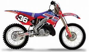 Honda 250 Cr : 2000 2001 tld honda cr 125 250 dirt bike graphics kit motocross graphics decal ebay ~ Dallasstarsshop.com Idées de Décoration