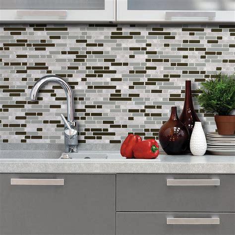 smart tiles bellagio grigio smart tiles bellagio grigio 10 06 in w x 10 00 in h peel
