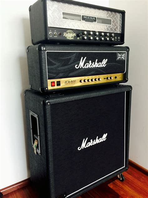 Marshall Jcm 800 4x12 Cabinet by Mesa Boogie Dual Rectifier Marshall Jcm 800 Kerry King
