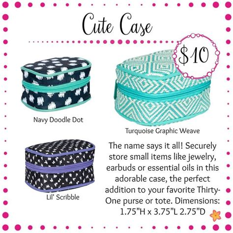 Cute Case  Thirtyone Gifts  Spring  Summer 2017  Deb's Totes  Pinterest  31 Party