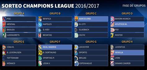 champions league los  partidos  seguir en la fase de