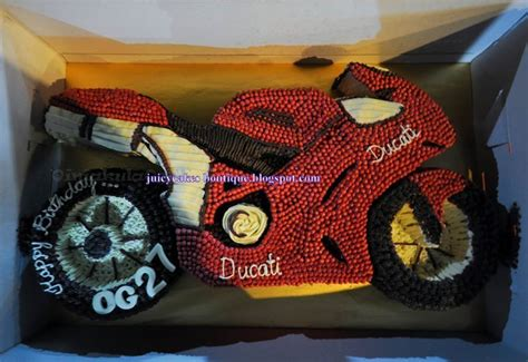 juicy cakes boutique superbikeducati theme cake