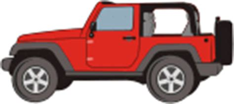 red jeep clipart jeep wrangler stock vector graphics cliparto