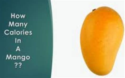 Reasons You Should Be Talking About Calories In Mango
