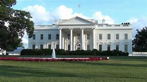 The White House With Blue Sky Stock Footage Video 3839942 ...