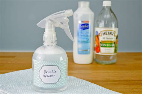 How To Make Your Own Homemade Wrinkle Releaser Spray
