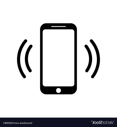 Cell Phone Symbol Vector Arenawp