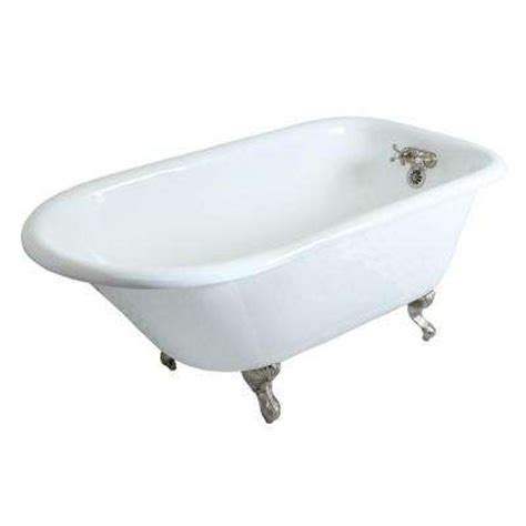 clawfoot tub home depot clawfoot tubs freestanding tubs the home depot