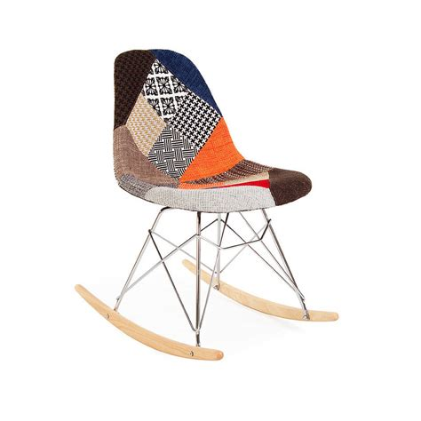 chair eames style rocking chair retro by ciel