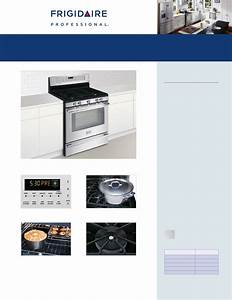 Frigidaire Convection Oven Fpgf3081k F User Guide