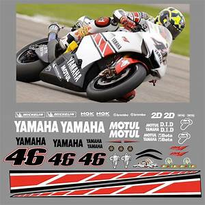 - Yamaha Valentino Rossi Race Replica Decals - 2005 #R-Y-VR-05