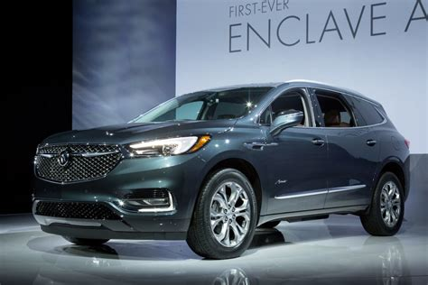 Premium Quality 2018 Buick Enclave Redesign, Release Date
