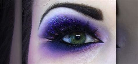 How To Create A Naughty Dramatic Purple Eye Makeup Look