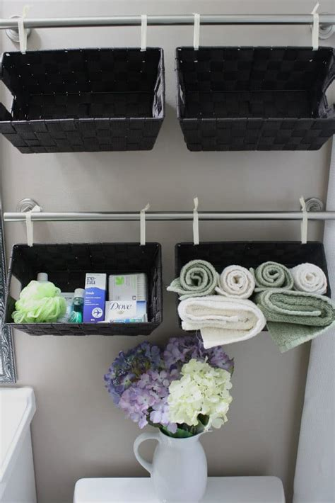 bathroom basket ideas awesome diy bathroom organization ideas diy projects