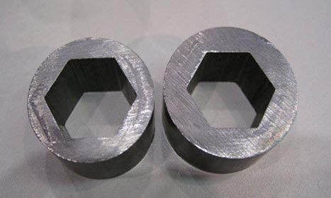 sae special steel pipe  hexagonal seamless flat