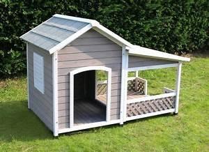 Hundehütte Mit Terrasse : hundeh tte mit terrasse falco 1 lovely animal hunde hunde haus y hunde bett ~ Watch28wear.com Haus und Dekorationen