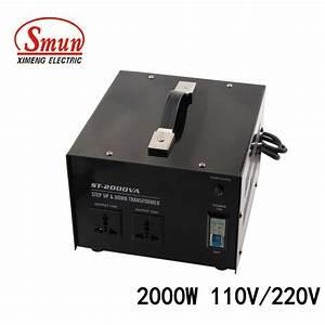China Home Use 2000w 110v  220v Step Up Transformer Step