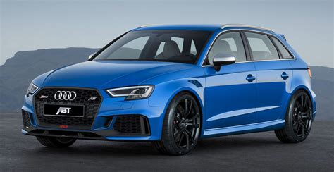 2018 Audi Rs3 By Abt Sportsline Review  Gallery  Top Speed