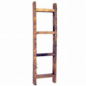 Small, Wooden, Decorative, Ladder, 20, Inches