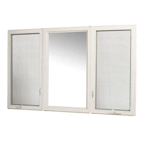 tafco windows      vinyl casement window  screen white vcc rl  home depot