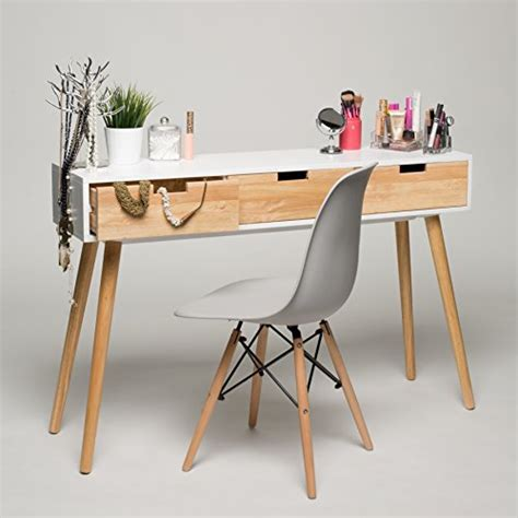 white wood console table console table white wood 120 x 30 x 80 cm dressing table
