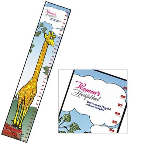 Personalized Giraffe Growth Chart