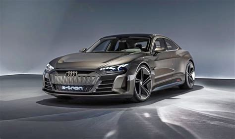 first at the brand new all electric audi e sports car