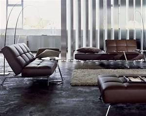 canape ligne roset pour votre salon moderne de luxe With tapis shaggy avec meublena canape cuir