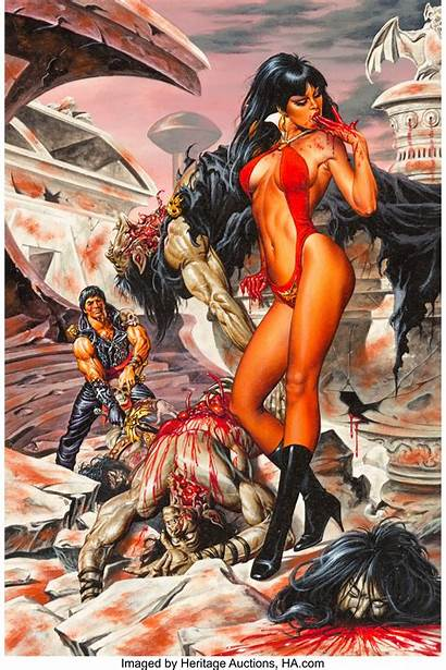 Jusko Vampirella Joe Lust Blood Comic Url