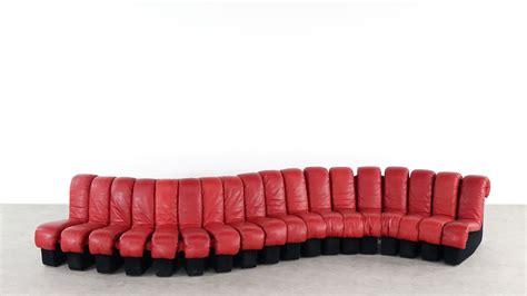Designer Lounge Chair De Sede Ds 600 Sofa Red Leather Ueli Berger Zorrobot
