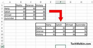 How To Make A Excel Chart With Two Y Axis How To Transpose Invert Reverse Or Flip A Table In Ms Word
