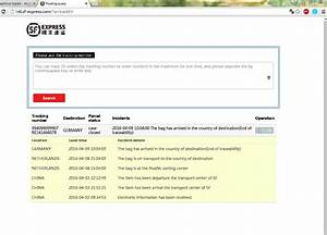 Sf Express Tracking : beispielverlauf sf express sendungsverfolgung tracking seite 5 china handy forum ~ Orissabook.com Haus und Dekorationen