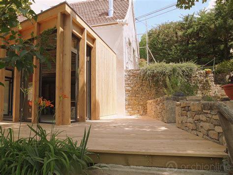 prix et co 251 t d une extension de maison bois archionline