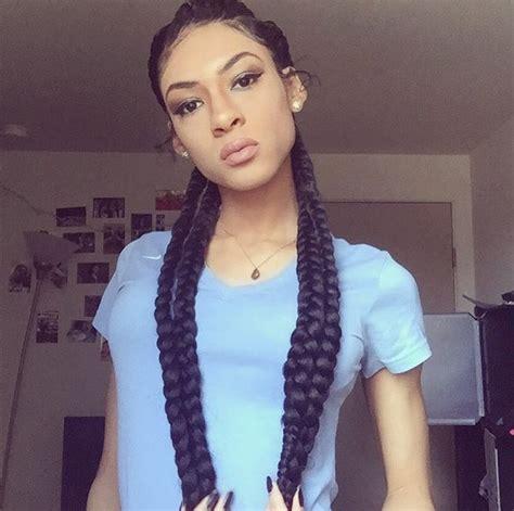 pin  michael katz  box braids  cornrows  images beautiful black girl hair styles