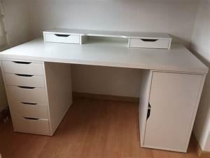 Ikea Schreibtisch Glasplatte : ikea schreibtisch weiss kaufen auf ricardo ~ Watch28wear.com Haus und Dekorationen