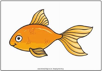 Goldfish Cartoon Clipart Fish Gold Animated Clip