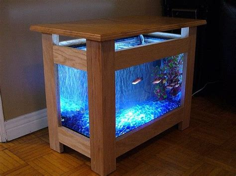 wooden fish tank coffee table table designs plans fish