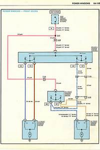 Power Window Wiring Diagram  1985 Monte Carlo Ss