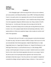 anthro  ethnography paper final draft tomika levi nick william thursday  pm introduction