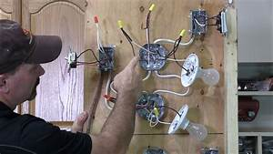How To Wire A 3 Way Light - Youtube