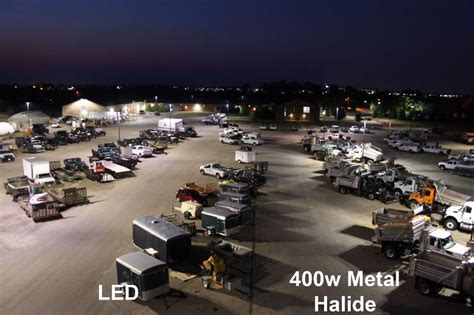 induction ls vs metal halide metal halide parking lot lights roselawnlutheran