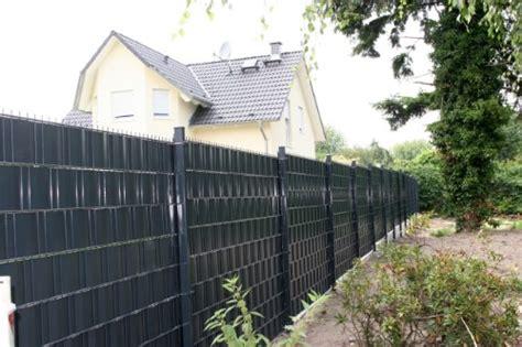 Mauer Für Garten by Sichtschutz Sigma F 252 R Doppelstabmatten 26 Lfdm In
