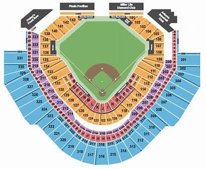 Chase Field Seating Chart Baseball Diamondbacks Seats