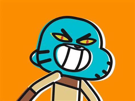 Gumball Evilcute By Barth Coelho Dribbble