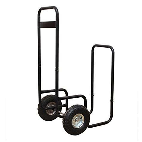 log carrier with wheels hio haul it wood mover rolling firewood cart log rack on 7152