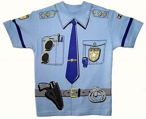 Polis t shirt vuxen