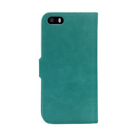 housse iphone 5 5s folio venezia bleu