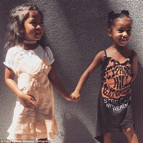 Kim Kardashian shares cute photo of North and Penelope ...